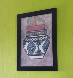 Pot traditionnel tunisien